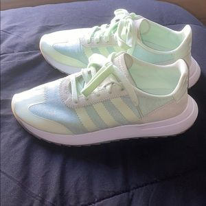 Adidas FLB Runners in Mint
